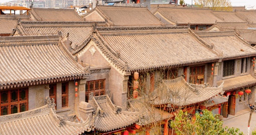 See the traditional Architecture of Xian on your China Tour