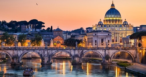 Visit Basilica St. Peter in Rome during your next Europe tours.