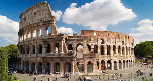 Experience Rome while on your trip to Italy.