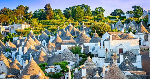 Alberobello with it's unique Trulli houses