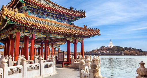 Catch your breath at Beihai Park on your China Vacation