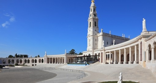Visit this religious town Fatima during your next Portugal tours.