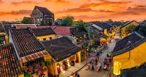 Hoi An is a well preserved example of a South-East Asian trading port