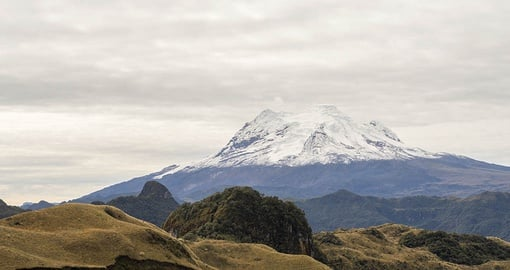 Discover Antisana Volcano on your trip to Ecuador