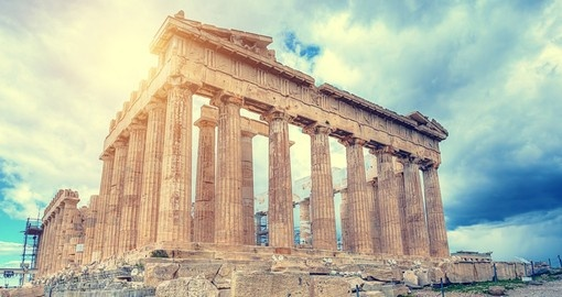 Explore the ancient Greek Acropolis on your stay of distinction