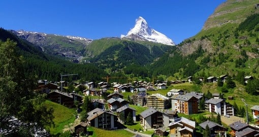 A highlight of any trip to Switzerland is experiencing the majestic Matterhorn near Zermatt