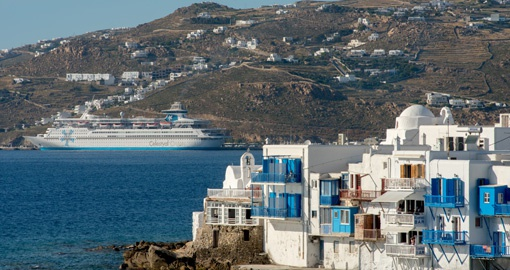 Visit Mykonos on your trip to Greece