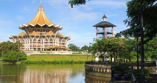Your tour begins and ends in Kuching