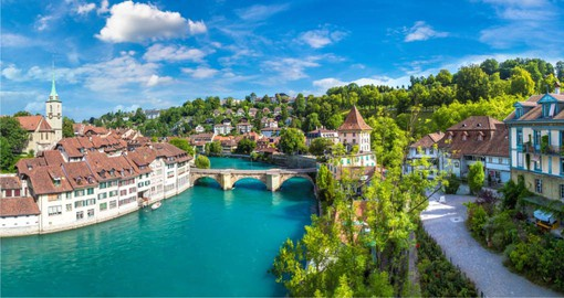 Bern, the capital of Switzerland, is an UNESCO World Heritage Site