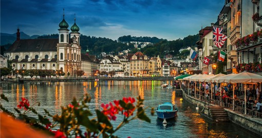 Visit the majestic city of Lucerne on your Trip to Switzerland to experience culture and many beautiful scenery's