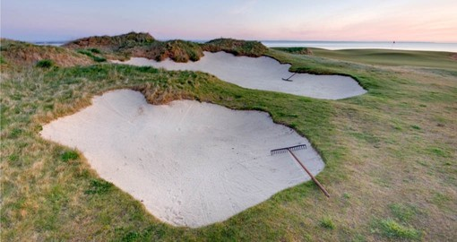 The Castle Course, the newest at St. Andrews was designed by architect David McLay Kidd