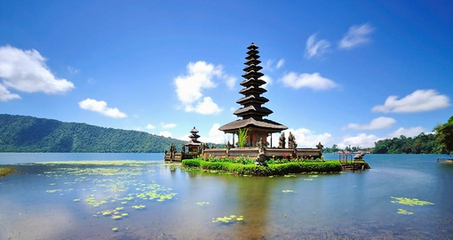 Visit the Floating Temple in Bali on your Bali Vacation