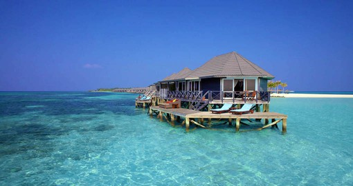Kuredu Island Resort Water Villas offer exclusive luxury
