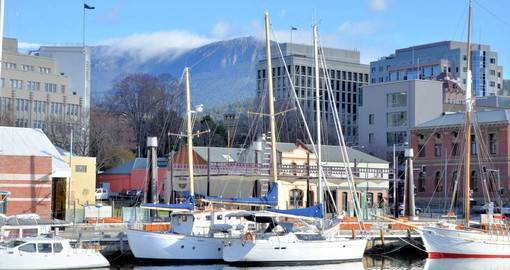 Hobart truly shines along its beautiful working waterfront