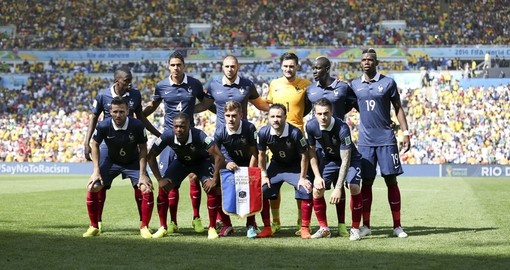 France during the 2014 World Cup