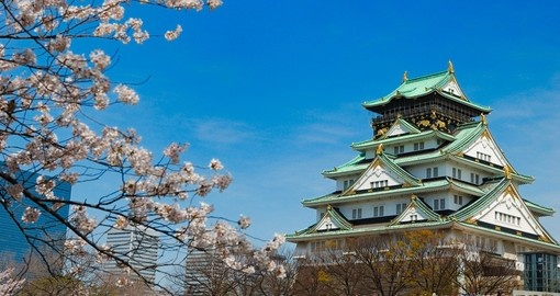 The Osaka Castle is always a popular inclusion on our Japan tours.