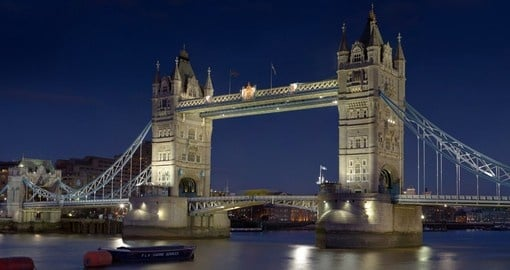 Icon Tower Bridge is a must see on your trip to London