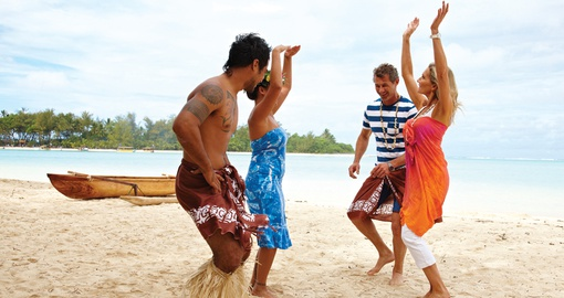 Learning a Traditional Polynesian Dance