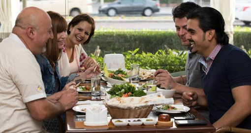 Experience the local cuisine during your Dubai vacation