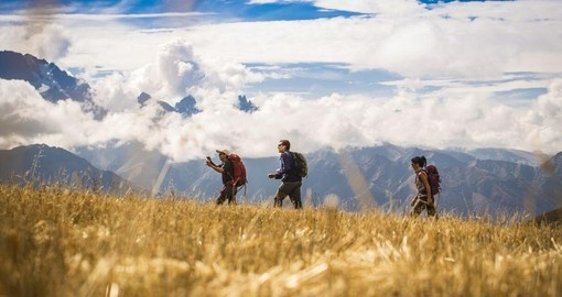 Experience trekking the Sacred Valley on your next Peru tours.