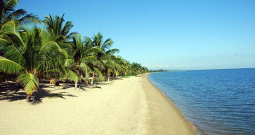The beautiful beach at Hamanasi Resort to be enjoyed on your Belize vacation