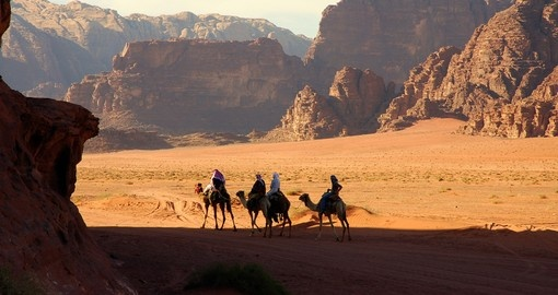 If you are in Jordan must see place would be Wadi Rum.