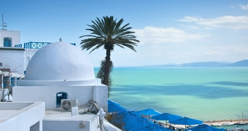 Enjoy amazing view from Tunis.