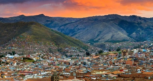 Cusco and Mountains