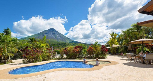The Arenal Kioro is one of the most exquisite hotels in the area