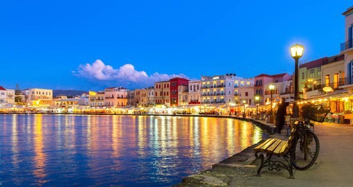 Chania, on Crete's western shore, is best know for it's Venetian port