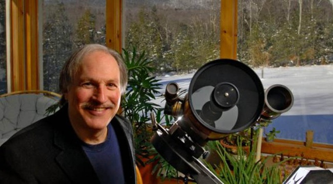 Bob Berman is your astronomer guide onboard.