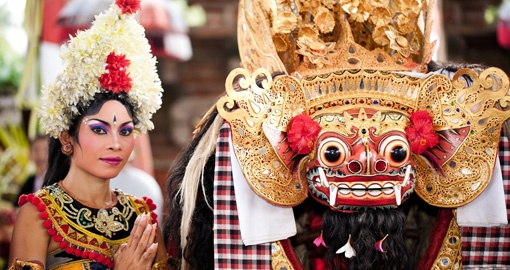 Enjoy a traditional Balinese performance