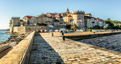 Take in the history of Korcula on your trip to Croatia