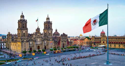 Begin your Mexico vacation with a visit to historical Mexico City