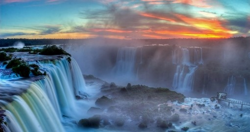 The beautiful Iguassu Falls is just one of your stops during your South America Tours.