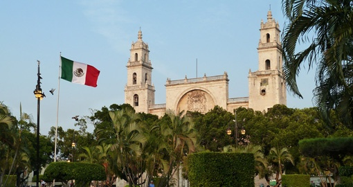 Tour colonial Merida on your Mexico vacation