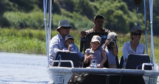 Boat safari - A must inclusion for all Botswana safaris