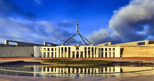 Conceived of by visionary American architect Walter Burley Griffin, Canberra was founded in 1913