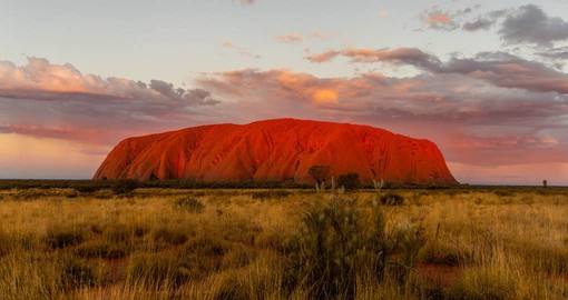 Uluru/Ayers Rock is considered the spiritual heart of Australia. Image courtesy Tourism NT