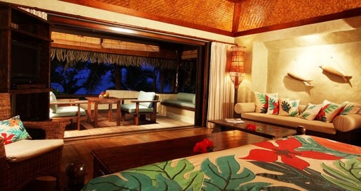 Experience all the amenities of Pacific Resort Aitutaki during your next trip to Cook Island.