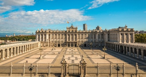 See the splendour of Madrid's Royal Palace on your Spain Holiday