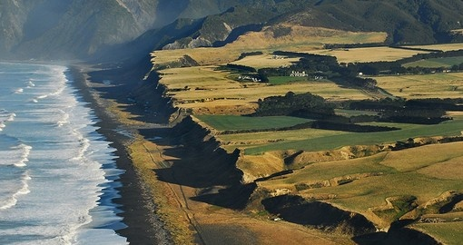 Explore birds Eye View of the retreat during your next trip to New Zealand.