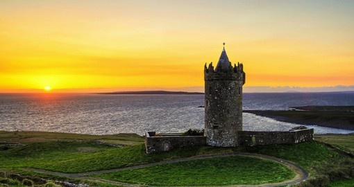 Explore the Doonagore Castle on your next Ireland Tours.