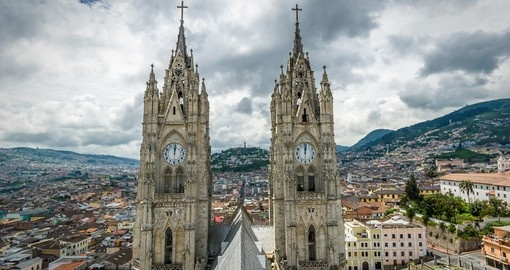 Explore Quito the capital of Ecuador.