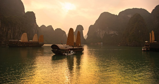 Take in the splendour of Halong Bay on your Vietnam Vacation