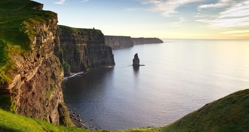 Beautiful view of Cliffs of Moher on your next Ireland tours.