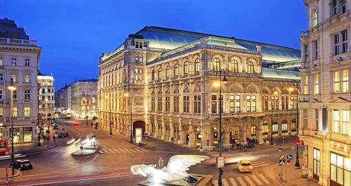 The Vienna State Opera or Staatsoper is a fine example of Renaissance Revival architecture