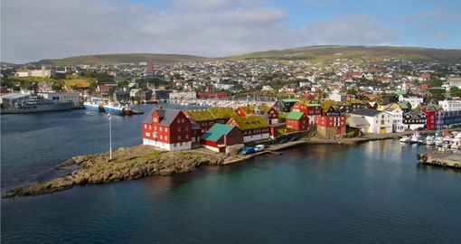 Experience all the beautiful places in Torshavn on your next trip to Faroe Islands.