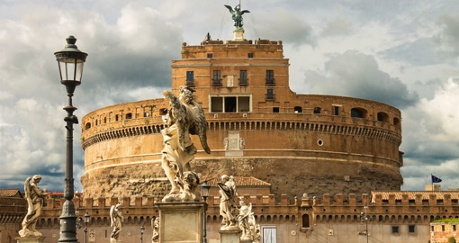 Visit The Bridge of Castel in Rome during your next Europe vacations.