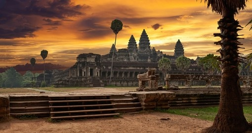 See amazing Angkor Wat on your Cambodia Tour